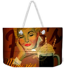 Marilyn And Fitz's Weekender Tote Bag by Kelly Awad