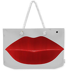 Marilyn Lips Weekender Tote Bag
