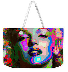 Marilyn Monroe - Abstract 1 Weekender Tote Bag