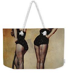 Marilyn Monroe And Jane Russell Weekender Tote Bag by EricaMaxine  Price