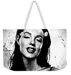 Marilyn Monroe--brunette Weekender Tote Bag by Saundra Myles