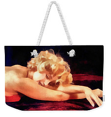Dreaming Marilyn Weekender Tote Bag