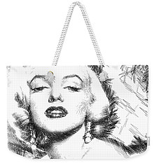 Marilyn Monroe - The One And Only  Weekender Tote Bag