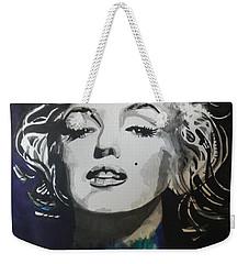 Marilyn Monroe..2 Weekender Tote Bag by Chrisann Ellis