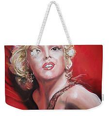 Marilyn Weekender Tote Bag by Peter Suhocke
