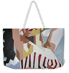 Marilyn Weekender Tote Bag by Tracey Harrington-Simpson