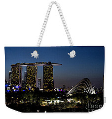 Marina Bay Skyline Weekender Tote Bag