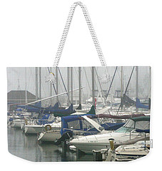 Marina Reflections Weekender Tote Bag