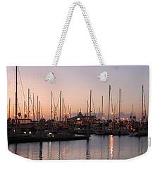 Marina Sunrise 12 Weekender Tote Bag by Leticia Latocki
