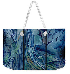 Marina Triptych Weekender Tote Bag