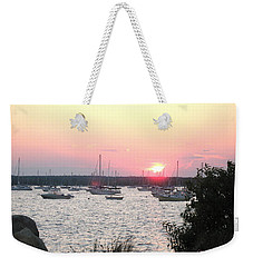Marion Massachusetts Bay Weekender Tote Bag by Kathy Barney