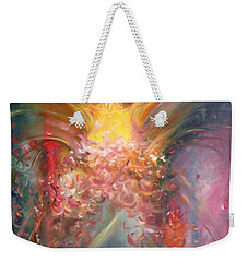 Mariposa Weekender Tote Bag by Julio Lopez