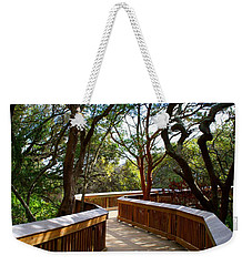 Maritime Forest Boardwalk Weekender Tote Bag by Kathryn Meyer