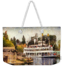 Mark Twain Riverboat Frontierland Disneyland Photo Art 02 Weekender Tote Bag