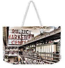 Market Center Weekender Tote Bag