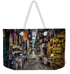 Market In The Old City Of Jerusalem Weekender Tote Bag