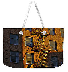 Market Street Area Building 4 Weekender Tote Bag