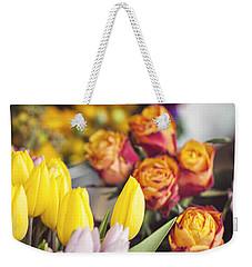 Market Tulips - Paris, France Weekender Tote Bag
