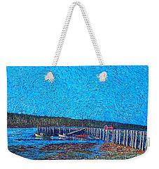 Market Wharf St. Andrews Nb Weekender Tote Bag
