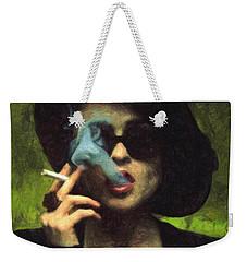 Marla Singer Weekender Tote Bag by Taylan Apukovska