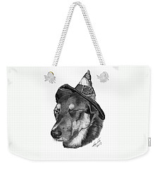 Marlee In Witch's Hat -021 Weekender Tote Bag by Abbey Noelle