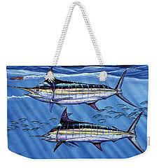 Marlins Twins Weekender Tote Bag