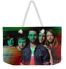 Maroon 5 Painting Weekender Tote Bag by Marvin Blaine