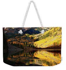 Maroon Bells Autumn Weekender Tote Bag
