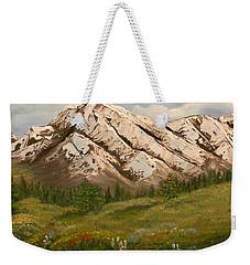 Maroon Trail Splendor Weekender Tote Bag