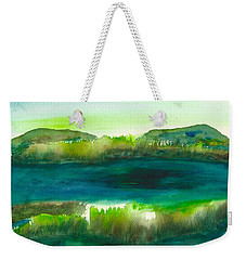 Marsh Abstract 3 By Frank Bright Weekender Tote Bag