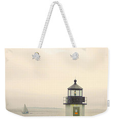 Marshall Point Lighthouse In Maine Weekender Tote Bag by Denyse Duhaime