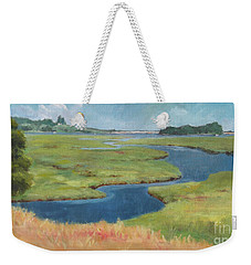 Marshes At High Tide Weekender Tote Bag