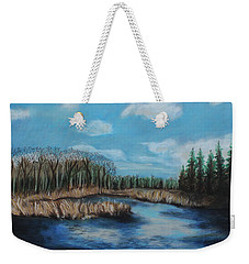 Marshland 1 Weekender Tote Bag by Jeanne Fischer