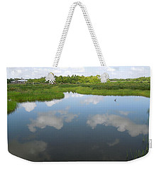 Marshland Weekender Tote Bag by Ron Davidson