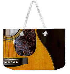 Martin Guitar  Weekender Tote Bag by Bill Cannon