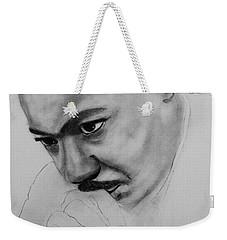 Martin Luther King Jr. Mlk Jr. Weekender Tote Bag by Michael Cross