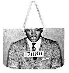 Martin Luther King Mugshot Weekender Tote Bag