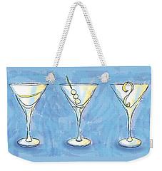 Martini Lunch Weekender Tote Bag