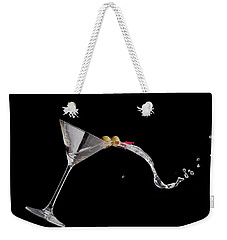 Martini Spill Weekender Tote Bag by Alexey Stiop