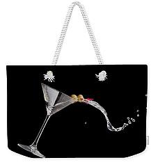 Martini Spill Weekender Tote Bag