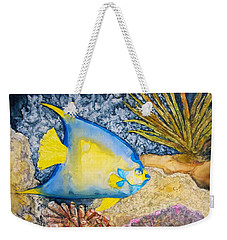 Martinique Angel Weekender Tote Bag by Patricia Beebe