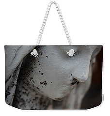 Mary In The Garden Weekender Tote Bag by Lynn Sprowl