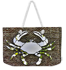 Maryland Country Roads - Camo Crabby 1a Weekender Tote Bag by Michael Mazaika