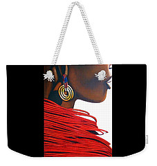 Masai Bride - Original Artwork Weekender Tote Bag