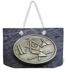 Masonic Medal Weekender Tote Bag