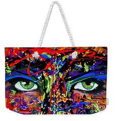 Masque Weekender Tote Bag by Michael Cross