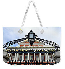 Massachusetts State House Weekender Tote Bag
