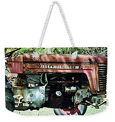 Weekender Tote Bag featuring the photograph Massey-ferguson by Patricia Greer