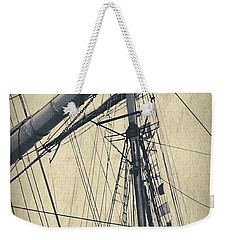 Mast And Rigging Postcard Weekender Tote Bag