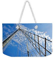 Masted Sky Weekender Tote Bag by Keith Armstrong